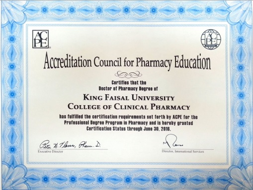 News - COCP received ACPE certification